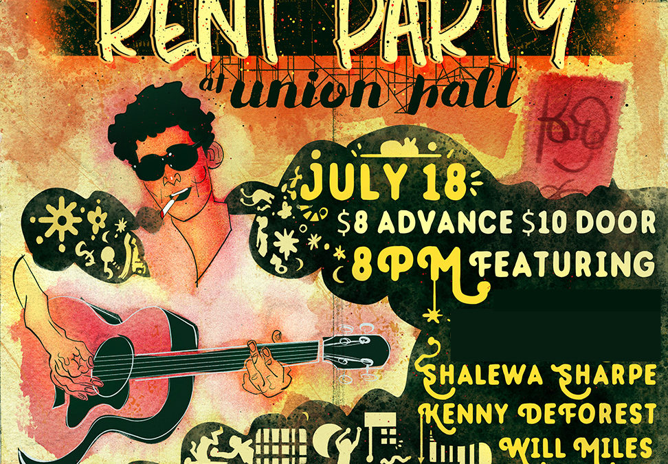 Rent Party: Ep 2 w/Kenny DeForest, Shalewa Sharpe, Will Miles