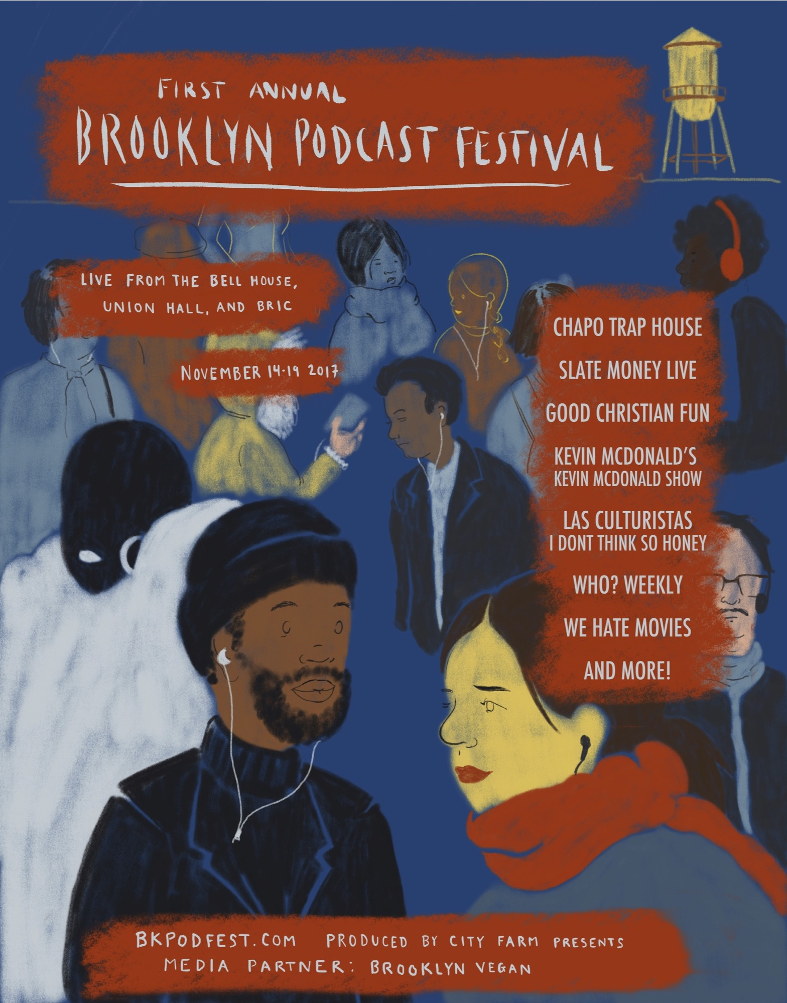 Good Orbit Shows in Brooklyn Podcast Festival