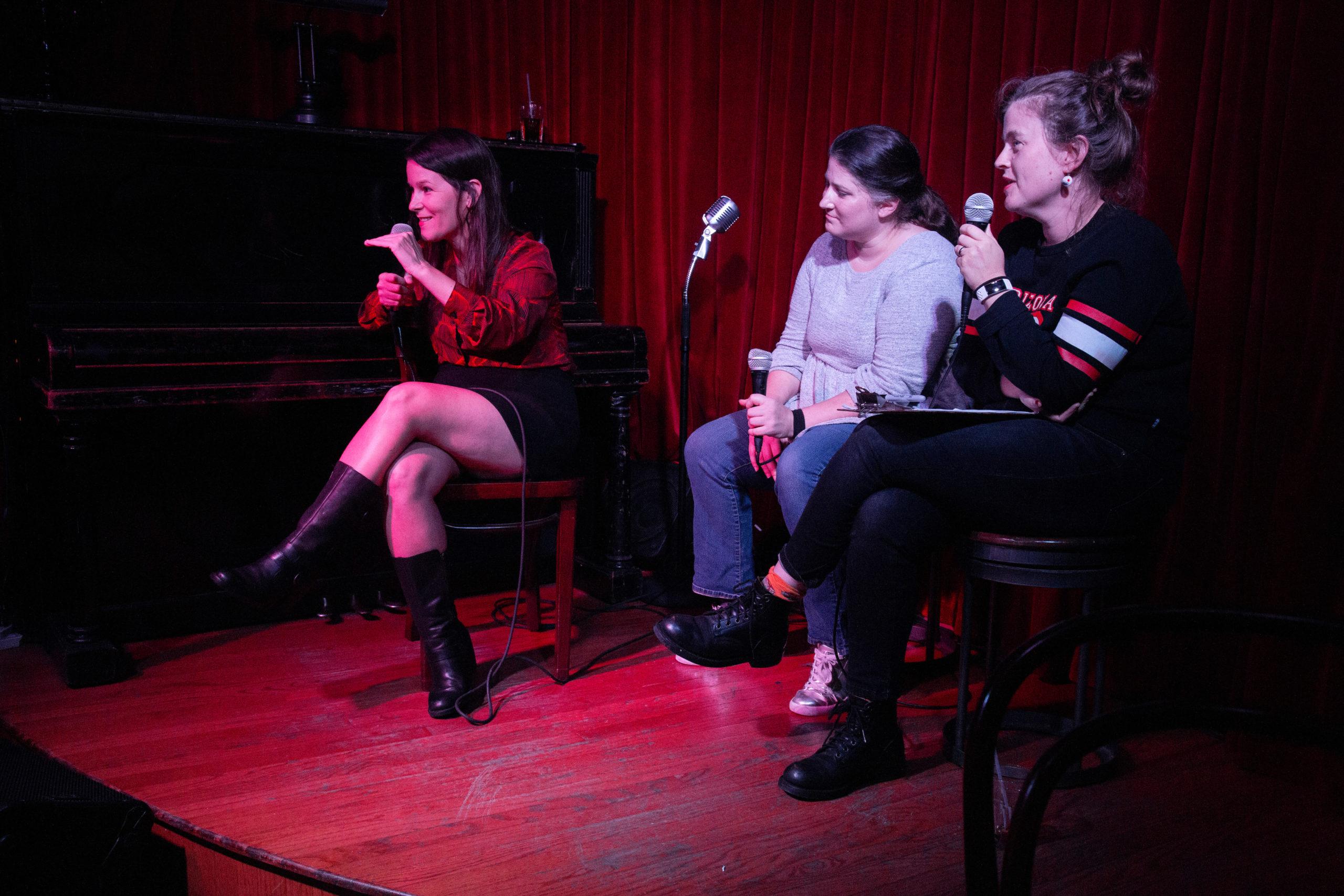 Mindy Tucker, Kat Burdick, Emily Flake at NIGHTMARES