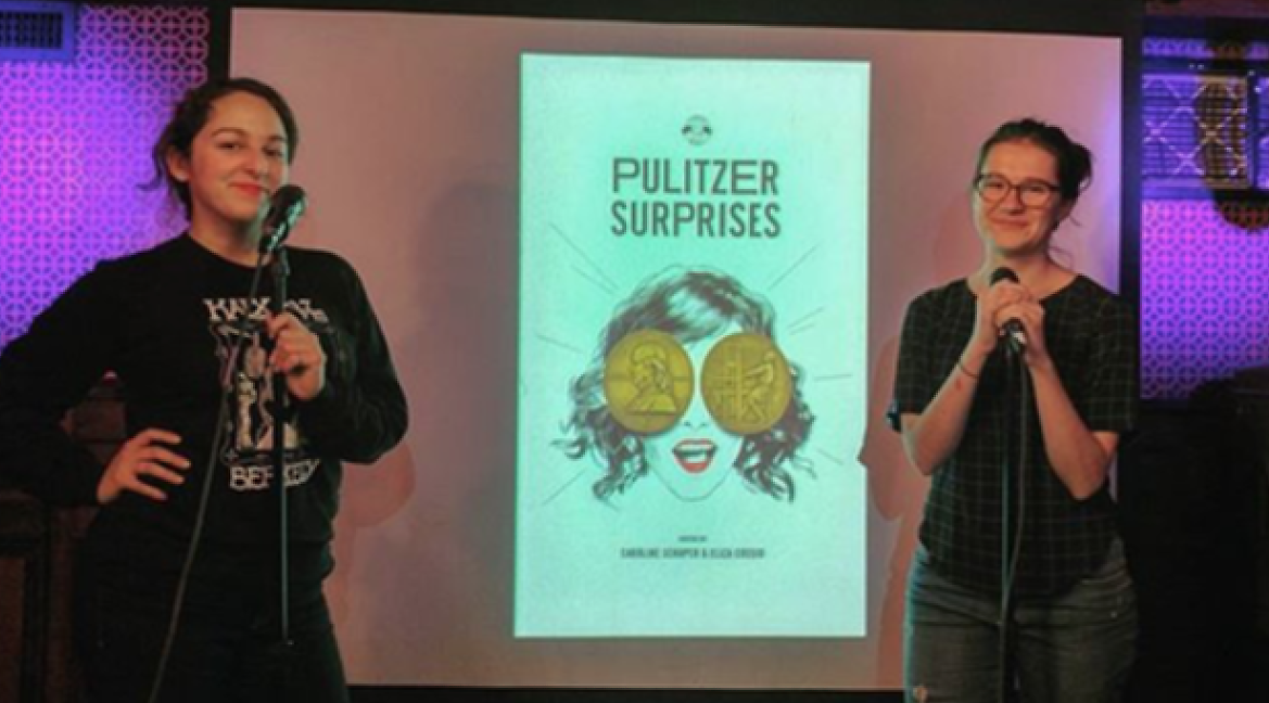 Eliza Cossio and Caroline Schaper of Pulitzer Surprises