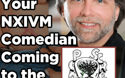 Ponzi Scream Ep 46: Your NXIVM Comedian Coming to the Stage