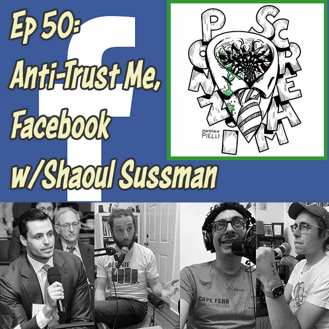 Ponzi Scream Ep 50: Anti-Trust Me, Facebook w/ Shaoul Sussman